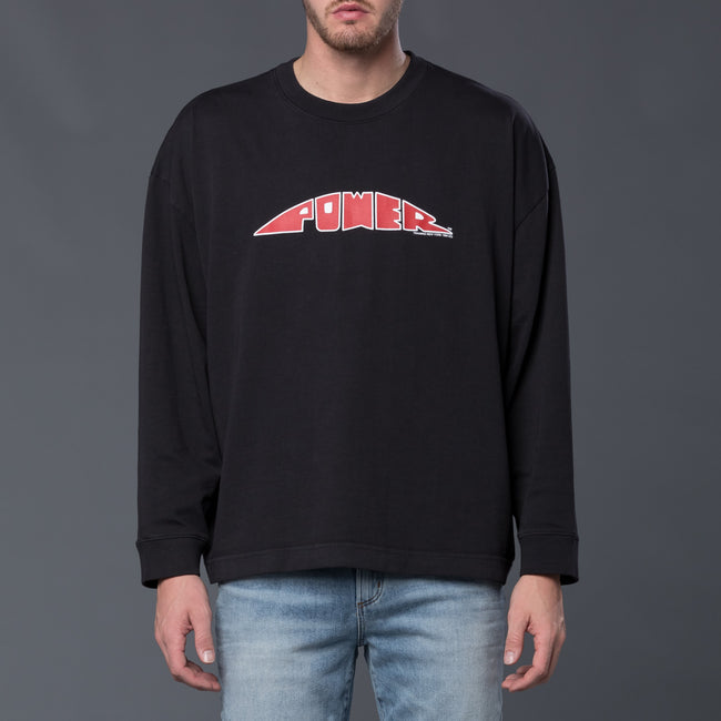 Willy Chavarria Power Buffalo Long Sleeve Tee