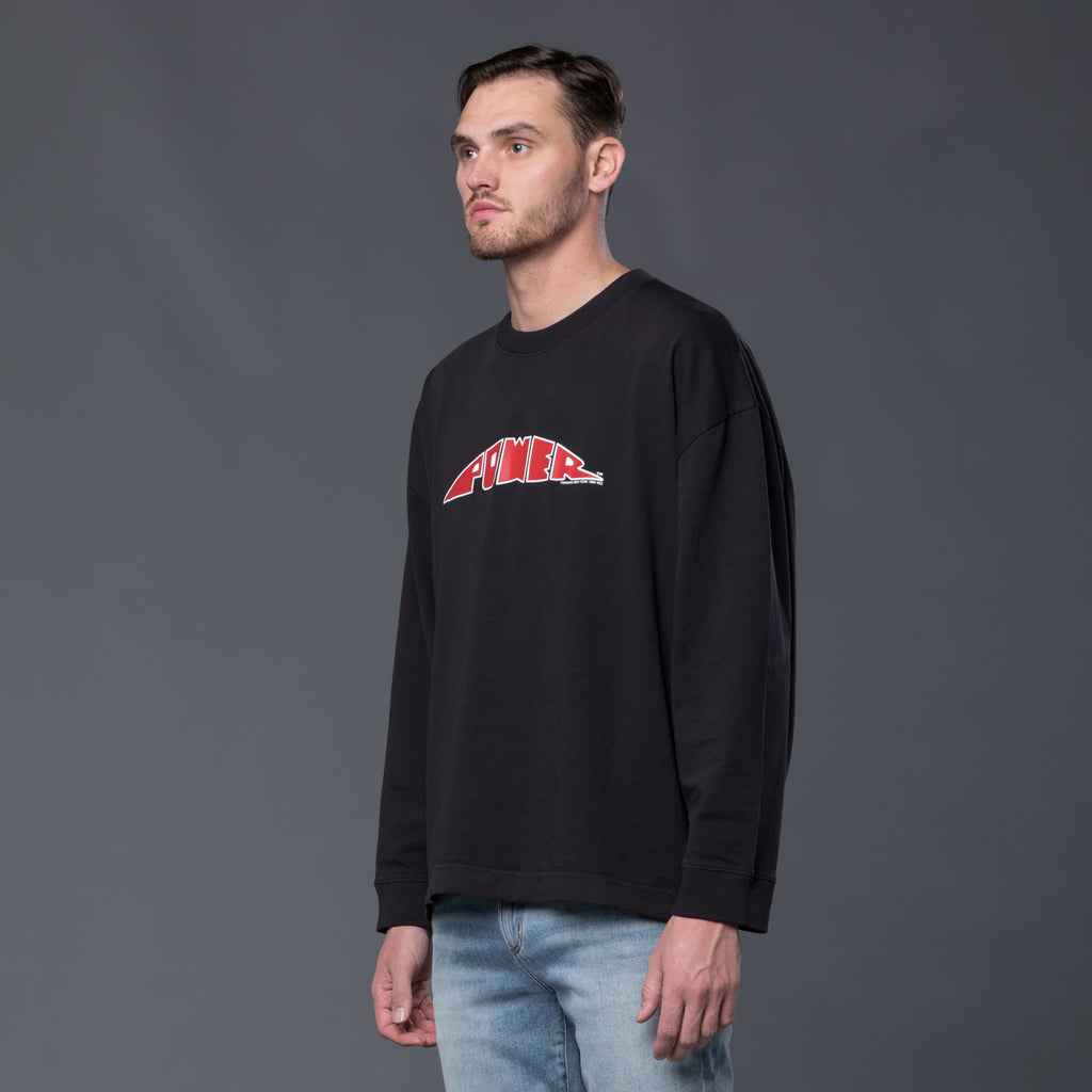 Willy Chavarria Power Long Sleeve Tee