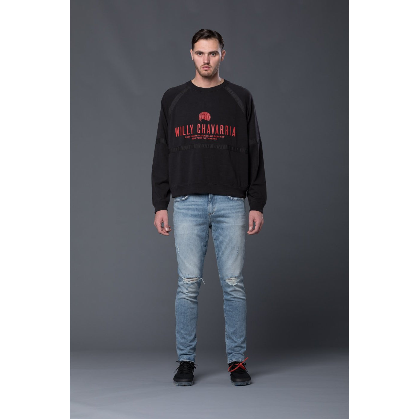 Willy Chavarria Battery Sweatshirt
