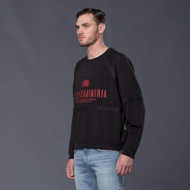 Willy Chavarria Long Sleeve Sweatshirt