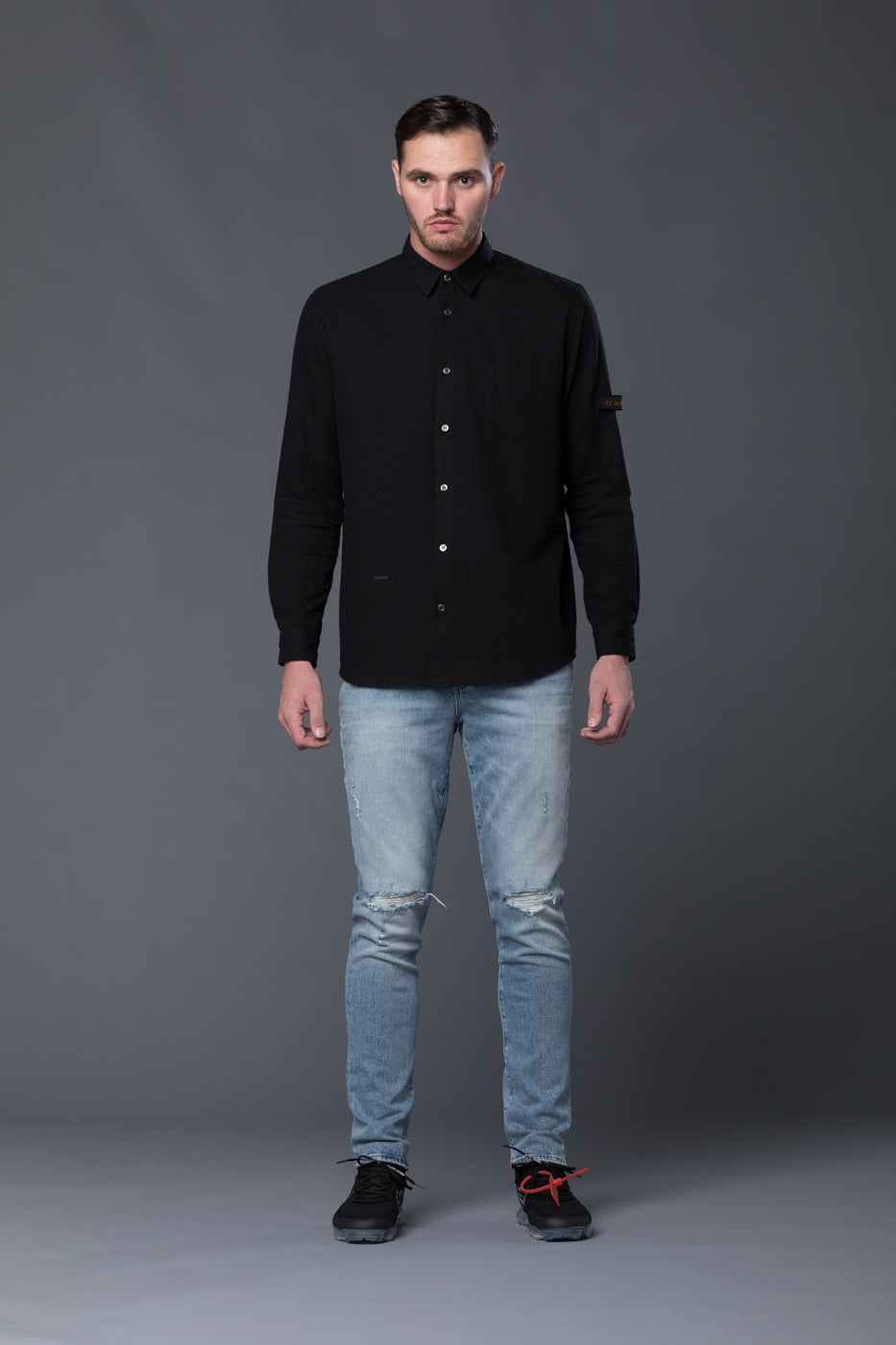 Robert Geller Black Shirt