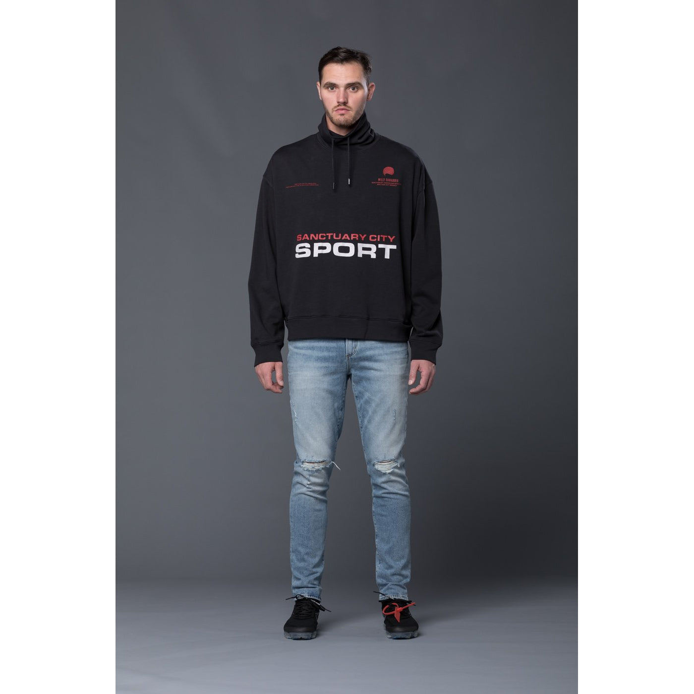 Willy Chavarria Sanctuary Sport Pullover