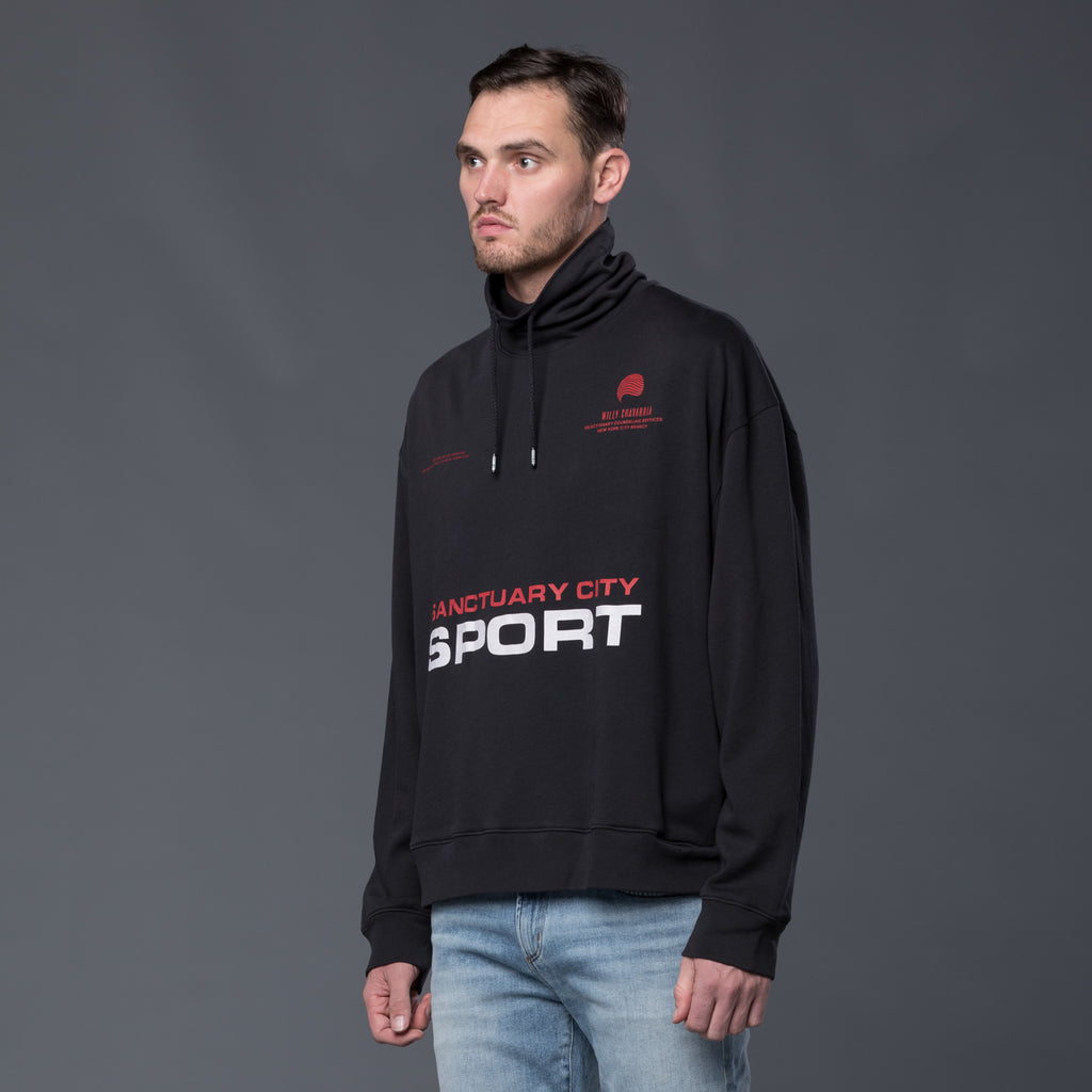 Willy Chavarria Sport Pullover