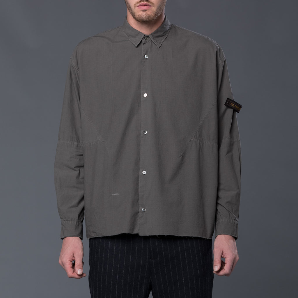 Robert Geller Grey Karol Shirt