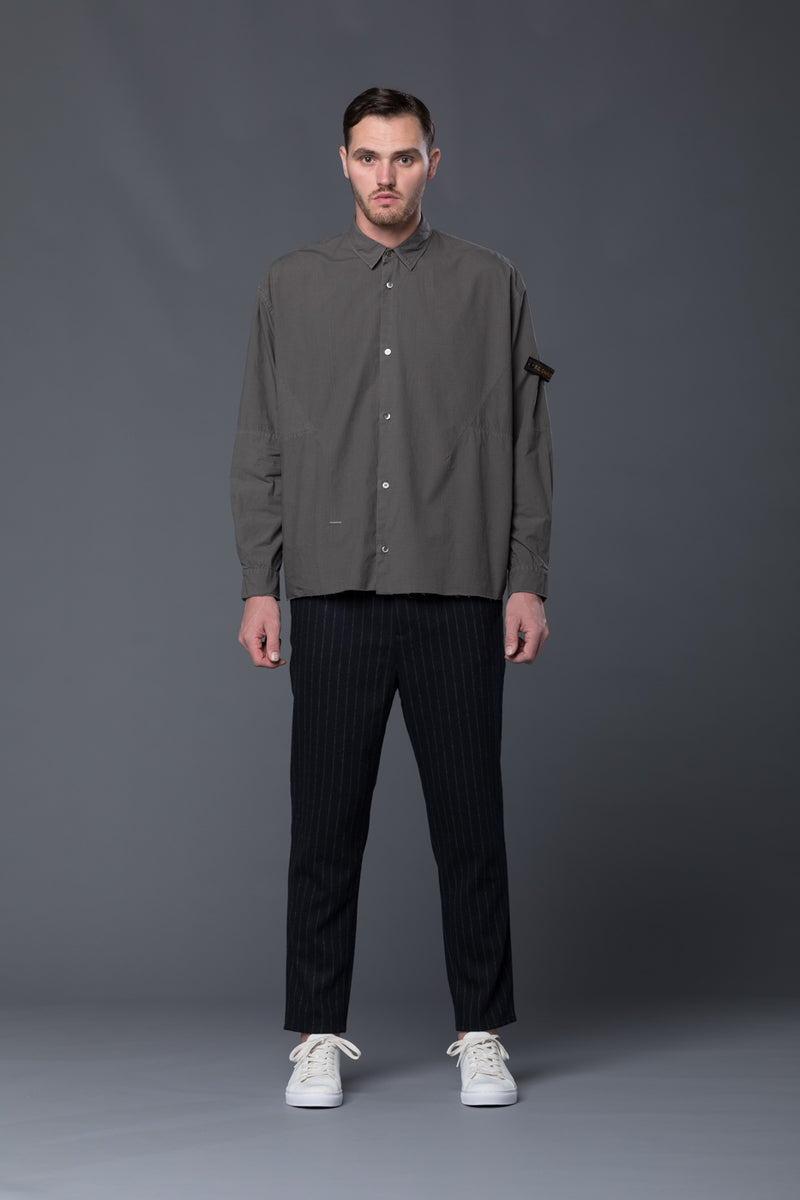 Robert Geller Button-front Karol Shirt