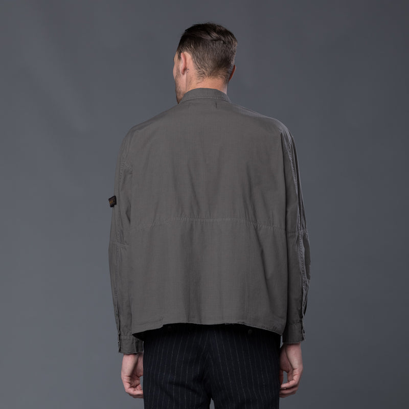 Robert Geller Grey enzyme shirt