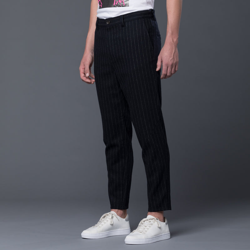 Gustav Von Aschenbach Striped Pants