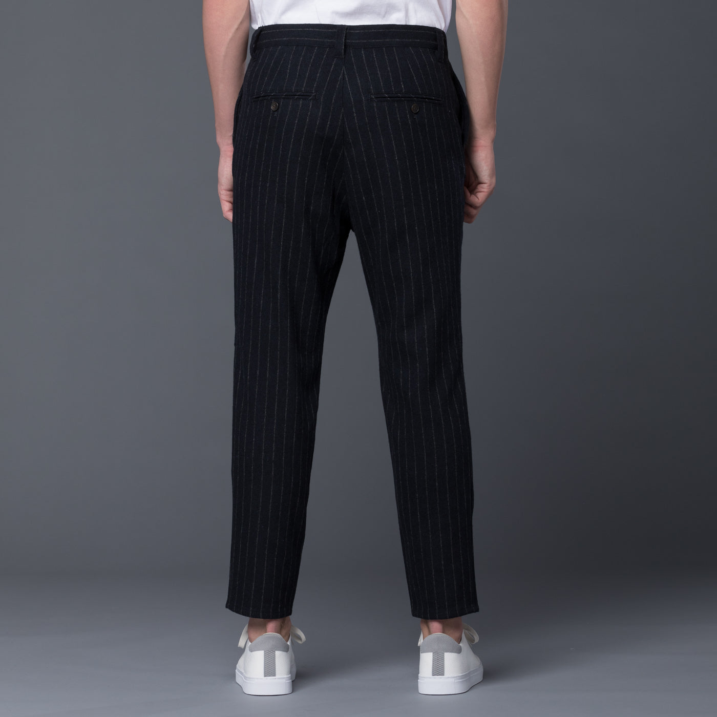Gustav Von Aschenbach Striped Wool Trousers