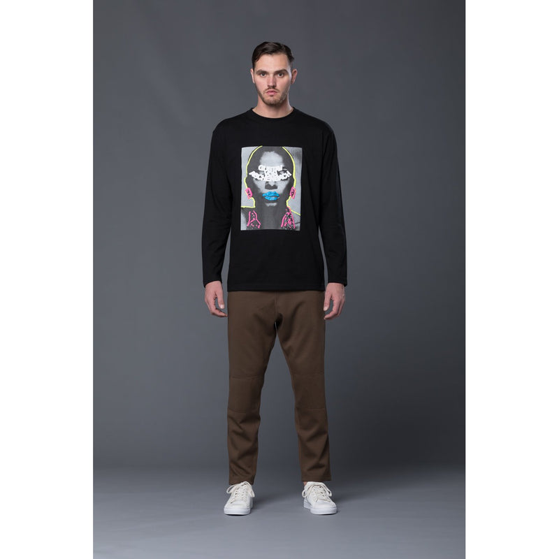 Gustav Von Aschenbach Graphic Long Sleeve Tee