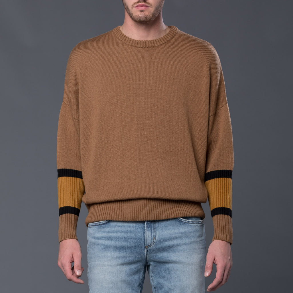 Gustav Von Aschenbach Machine Knit Round Neck Sweater