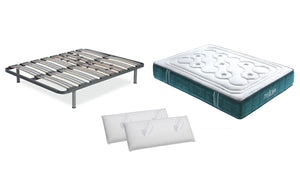 PACK Base + Colchón MEDICAL Opción Somier Vita 2 Almohadas