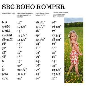 Summer Shades - SBC Boho Romper - Pants Length
