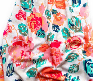 Summer Roses - SBC Bubble Tunic Length