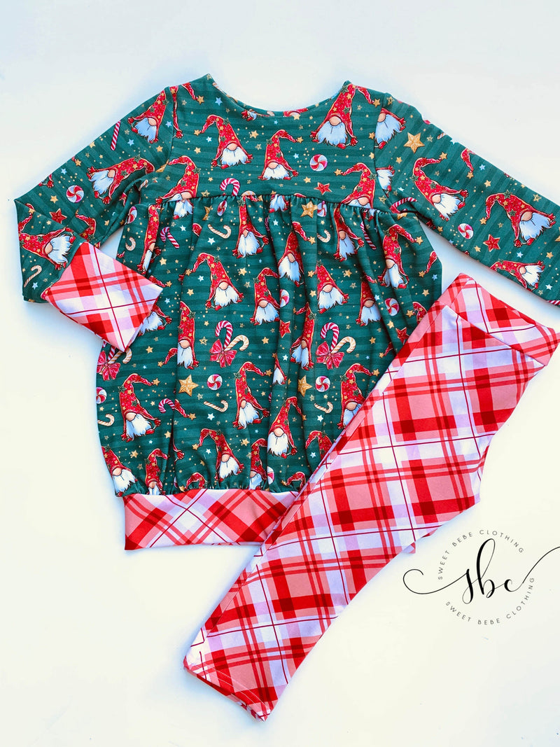 Holiday Gnomes - SBC Bubble Tunic Length