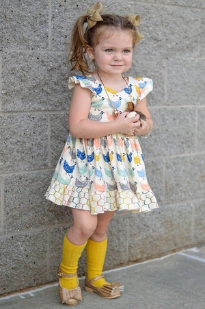 Classic Lemonade Ruffle Dress