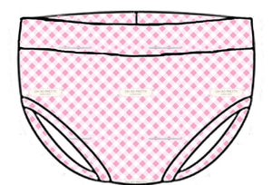 Pink Gingham - Easter 2020 - Bummies
