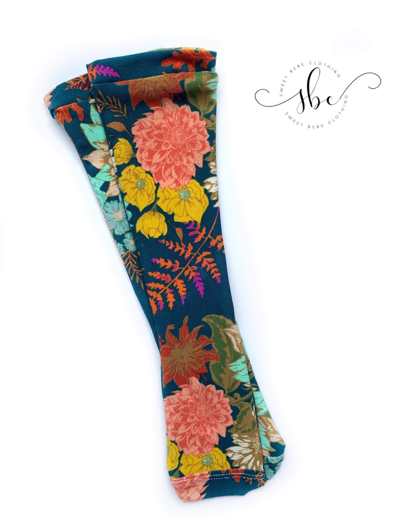 Family Florals - Knee High Socks