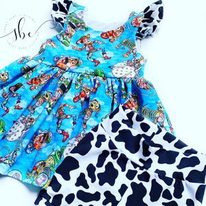 Cow Print - SBC Dress