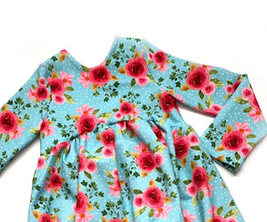 Blooming Beauty - Romper Shorts Length