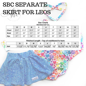 Tiana - Custom SBC Leo Separate Skirt