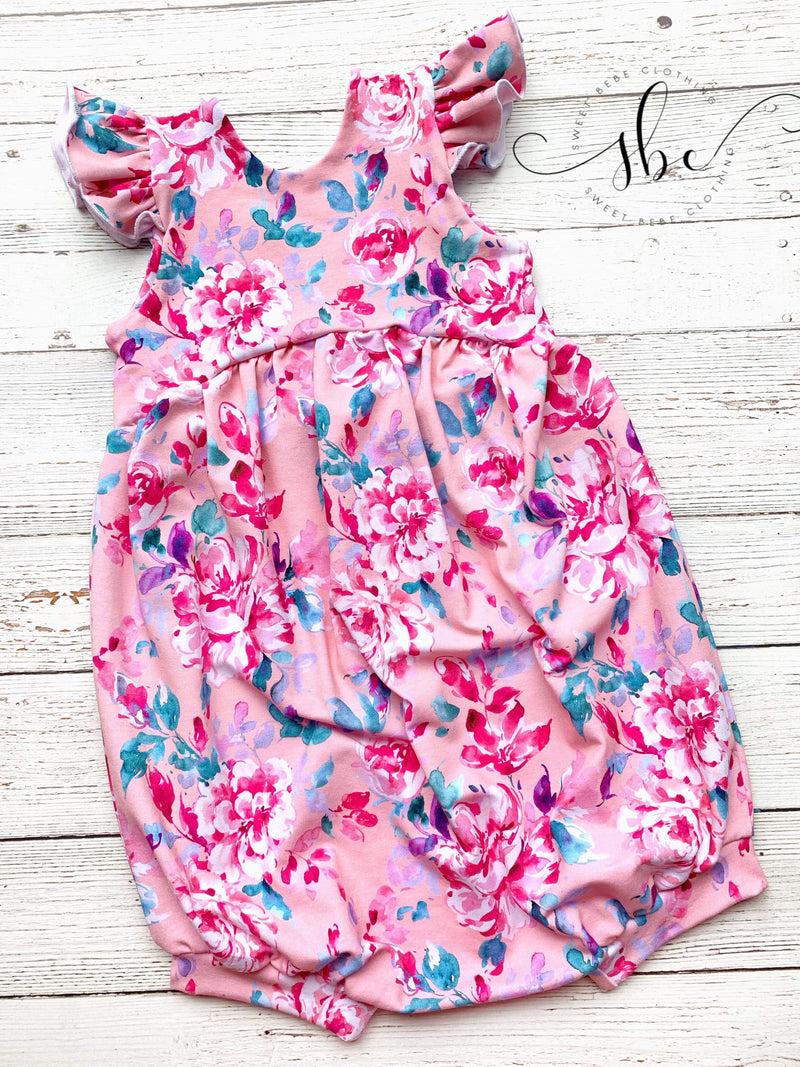 Chasing Wildflowers - Romper Bubble Length