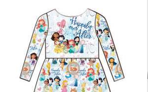 Happily Ever After - Panel Tunic