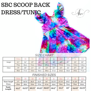 Favorite Colors - SBC Scoop Back Tunic