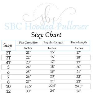 Sample - SBC Hooded Pullover Tunic Length