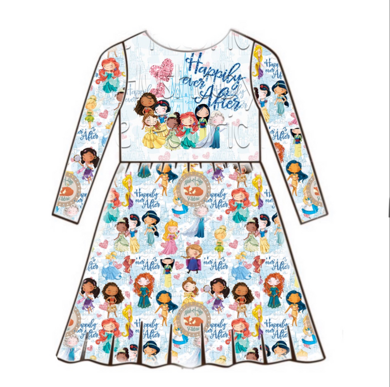 Happily Ever After - Panel Dress