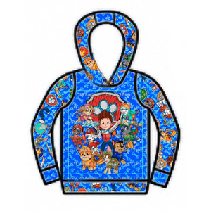 Ohana - SBC Boy's Pullover with Panel 1 and Hood