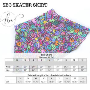 Summer Shades - SBC Skater Skirt (Daily Skirt)
