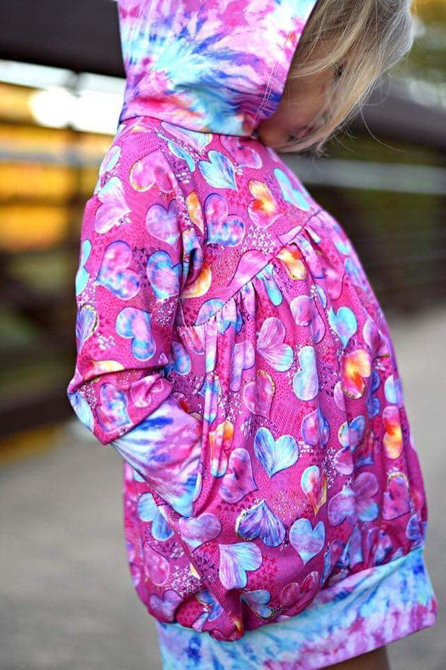 *Spring Blooms - Add Custom Pockets - Rompers/Bubble Tunics