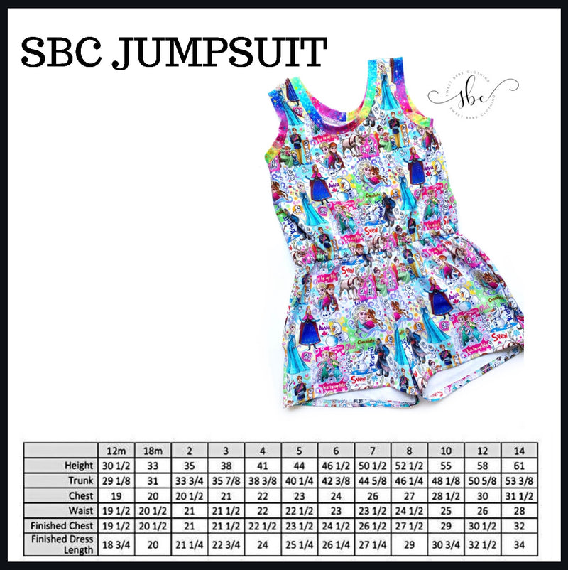 Sample - Non-Custom - SBC Jumpsuit