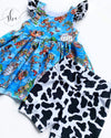 Cow Print - Shorties Add On