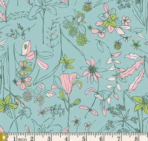 Wild Flowers - Capri Length