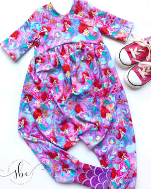 Sea Friends - Pants Length Romper