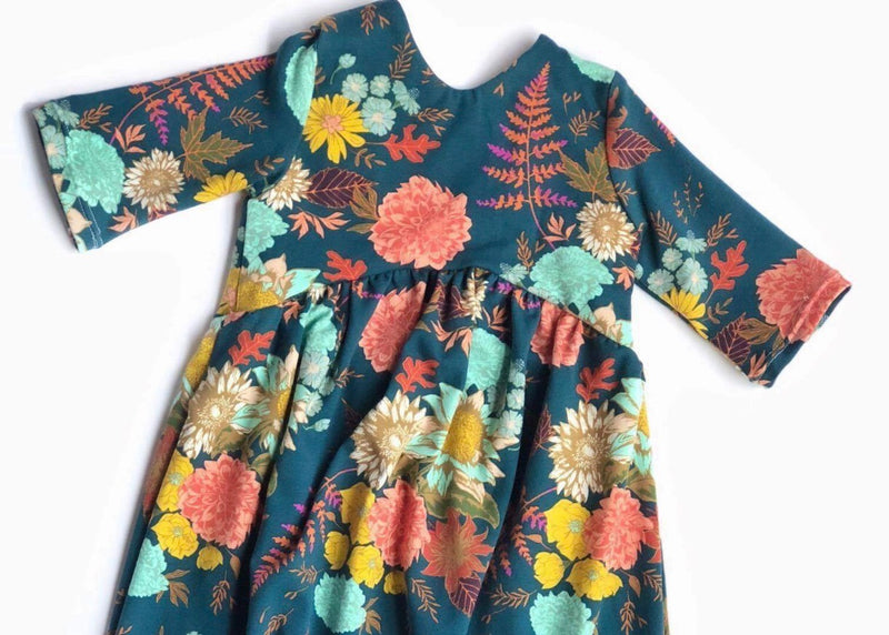 Family Florals - Romper Shorts Length