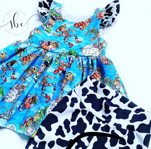 Ice Friends Floral - SBC Dress