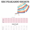 Fruit Punch - SBC Peekaboo Shorts
