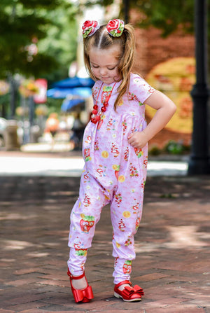 Berry - Romper Pants Length