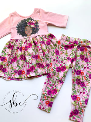 Ice Friends Floral - SBC Leggings