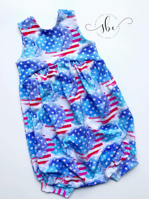 RWB Liberty - Romper Shorts Length