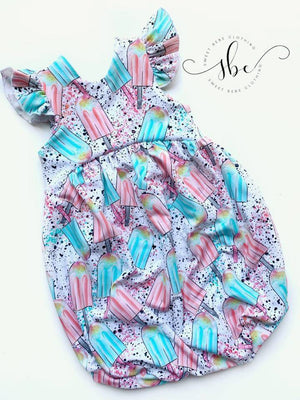 Popsicle Summer - Bubble Length Romper