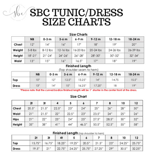 Mint Blossoms - SBC Tunic