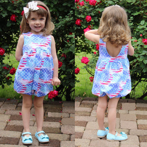 RWB Liberty - Romper Bubble Length