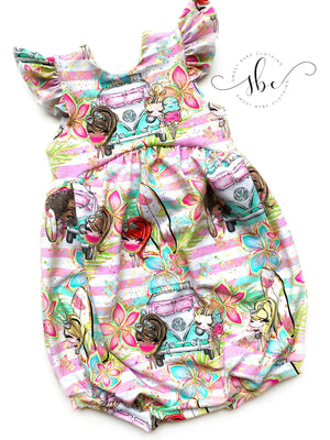 California Girls - Shorts Length Romper