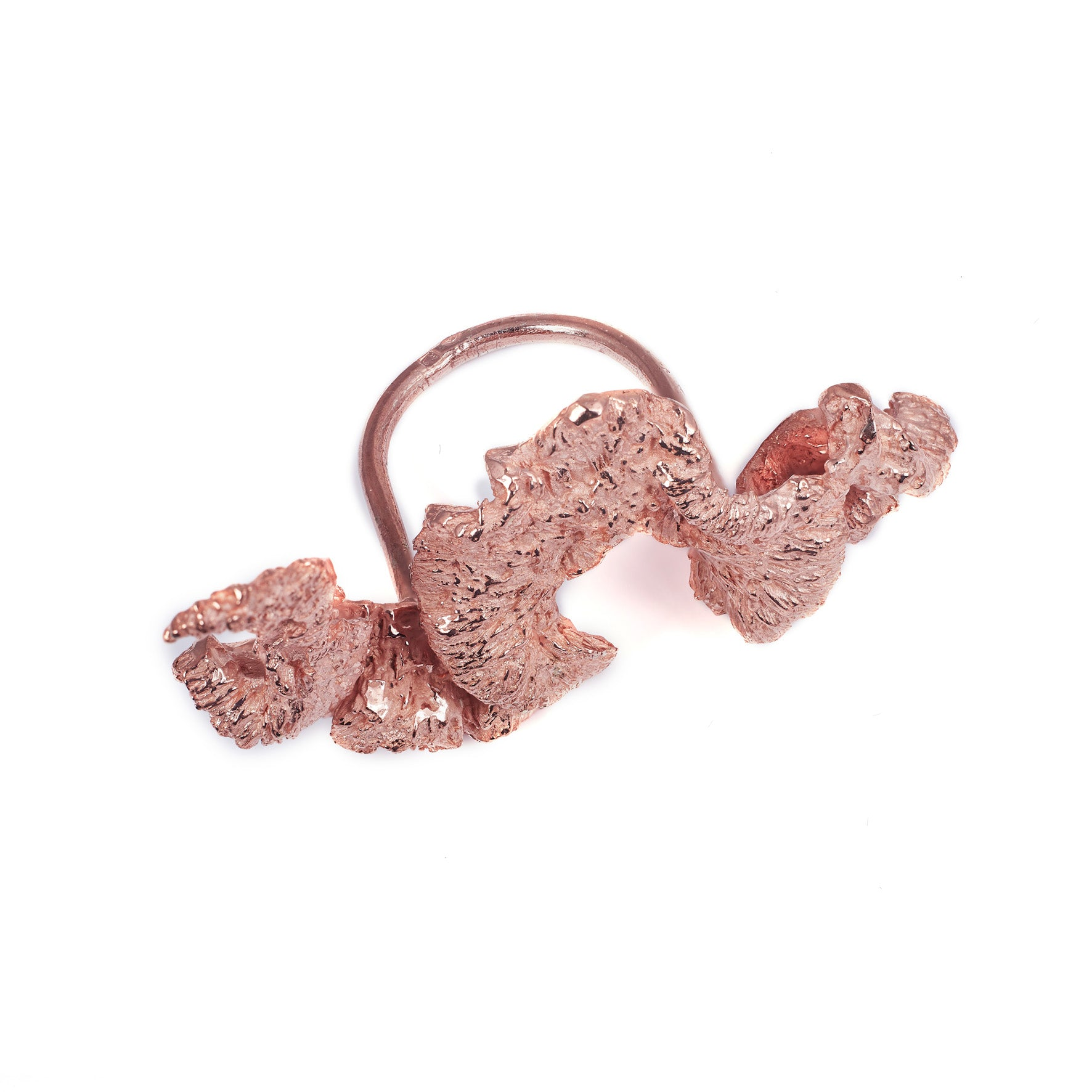 Anel Cristata Rose Gold