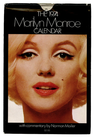 MONROE, Marilyn; MAILER, Norman // The 1974 Marilyn Monroe calendar.