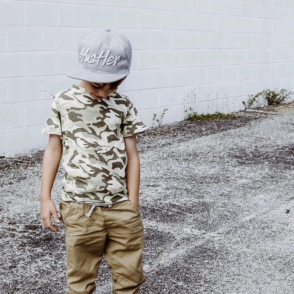 BOYS CAMO SHIRT TODDLER BROOKLYN FIFTH
