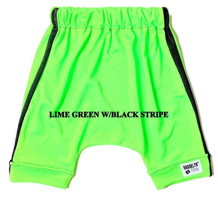 Brooklyn + Fifth toddler and kids shorts neon colors color pop collection colors trendy shorts summer shorts kids shorts toddler shorts infant shorts elastic waistband shorts brooklyn harem shorts toddler shorts comfy summer shorts